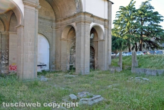 La chiesa di Santa Maria delle Fortezze