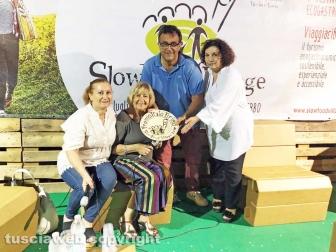 Viterbo - Anna Moroni riceve il premio Italo Arieti