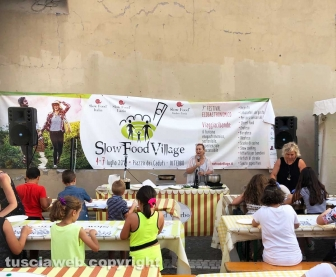 Viterbo - La chiusura dello Slow food village