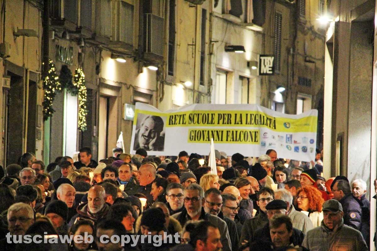 La città in marcia contro la mafia