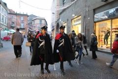 Viterbo - La città si rianima per il Natale
