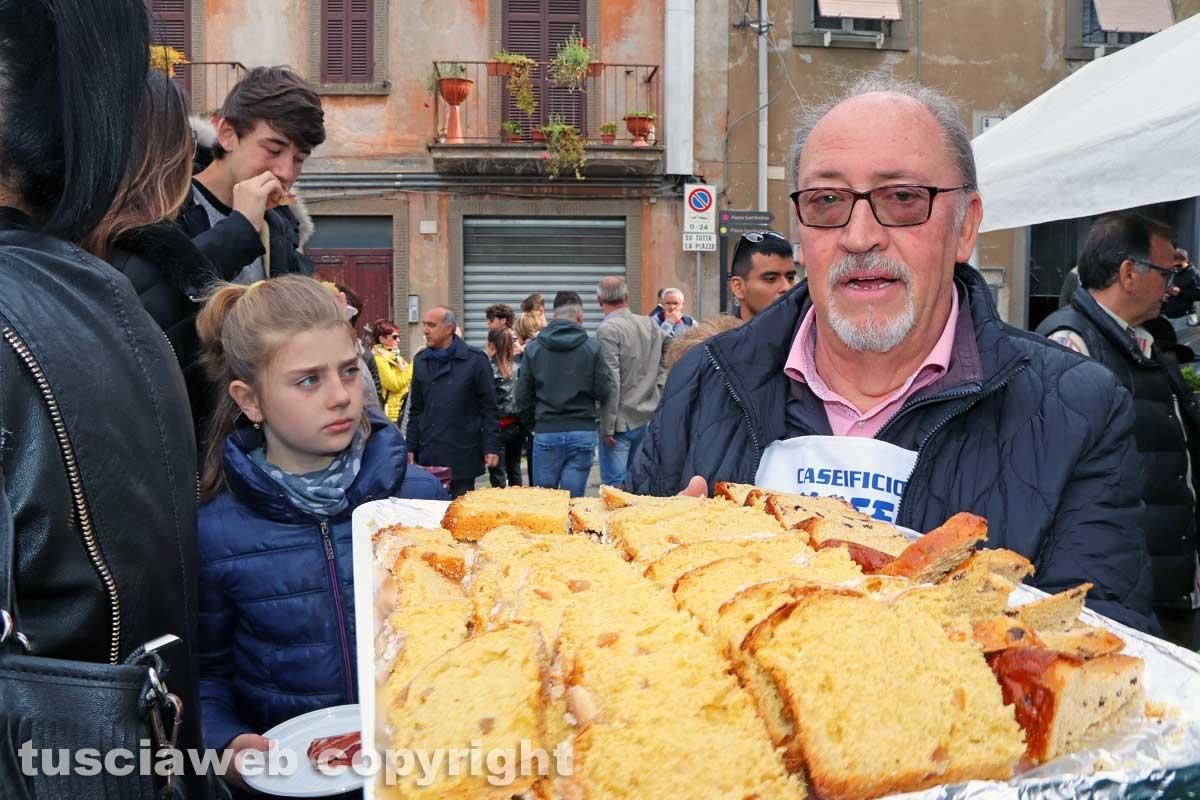 Viterbo - La colazione di Pasqua a Pianoscarano