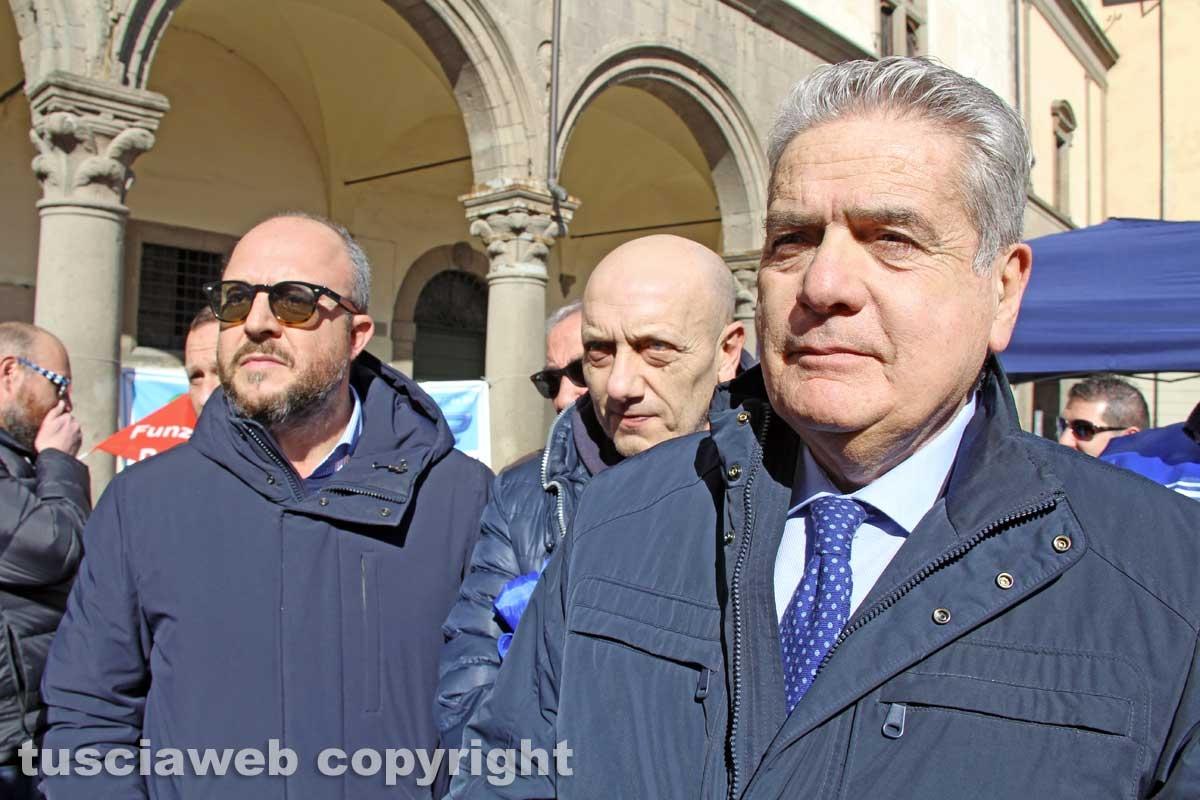 La conferenza stampa della polizia penitenziaria
