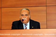 Il direttore della Banca di Viterbo Massimo Caporossi