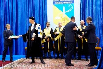 La consegna dei diplomi ai marescialli