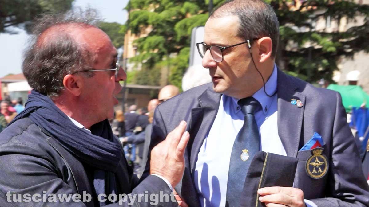 La contestazione contro il presidente dell'Anpi