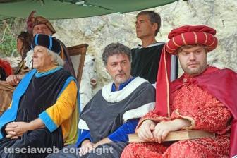 La corte rinascimentale di Alfonso De Lagnis