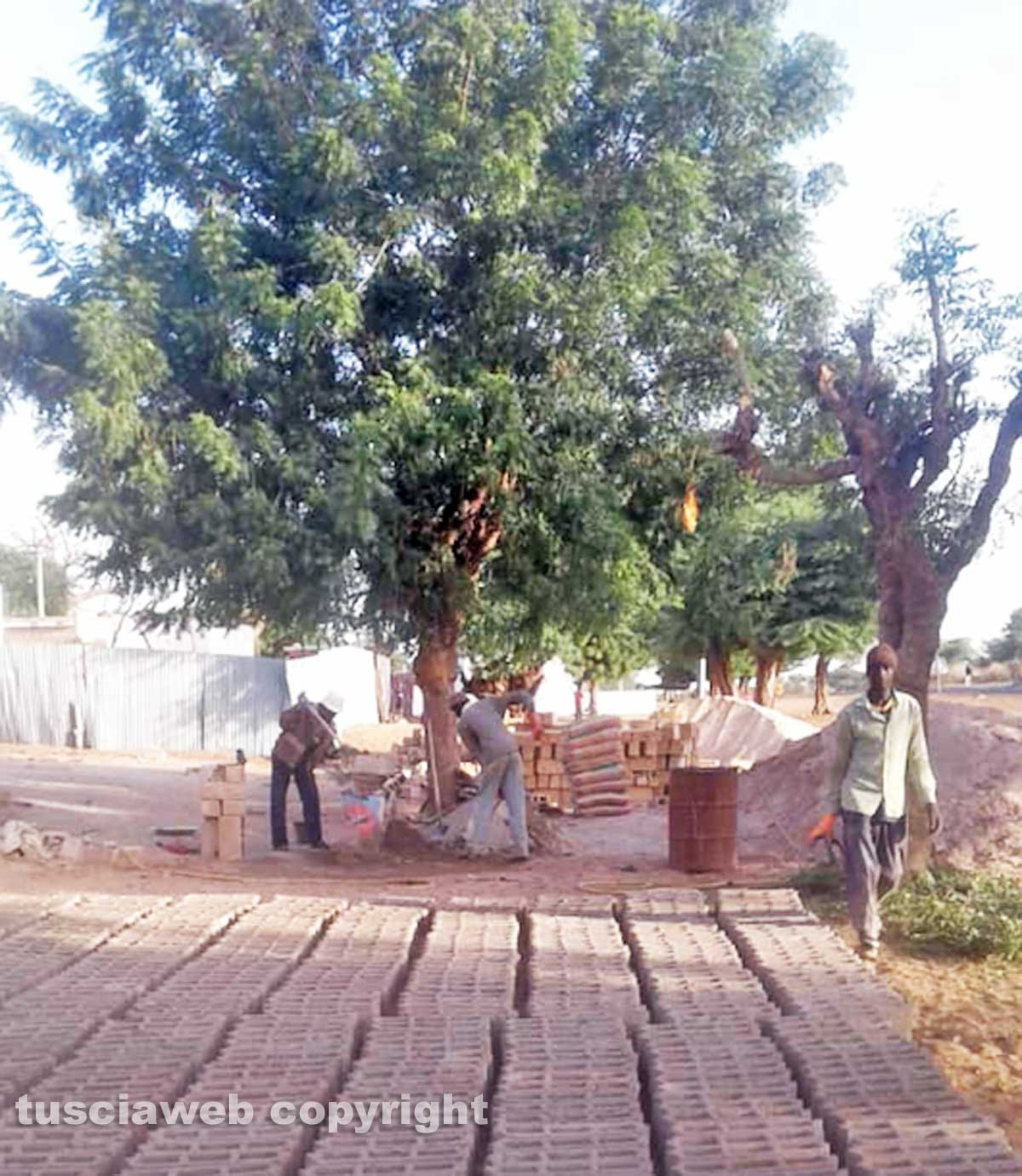 La costruzione di un centro sanitario