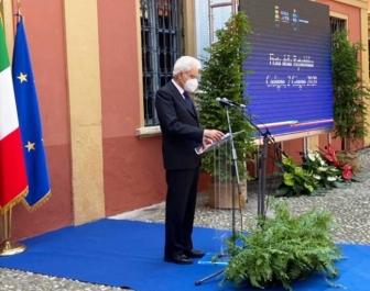 Codogno - Il capo dello stato Sergio Mattarella in visita a Codogno