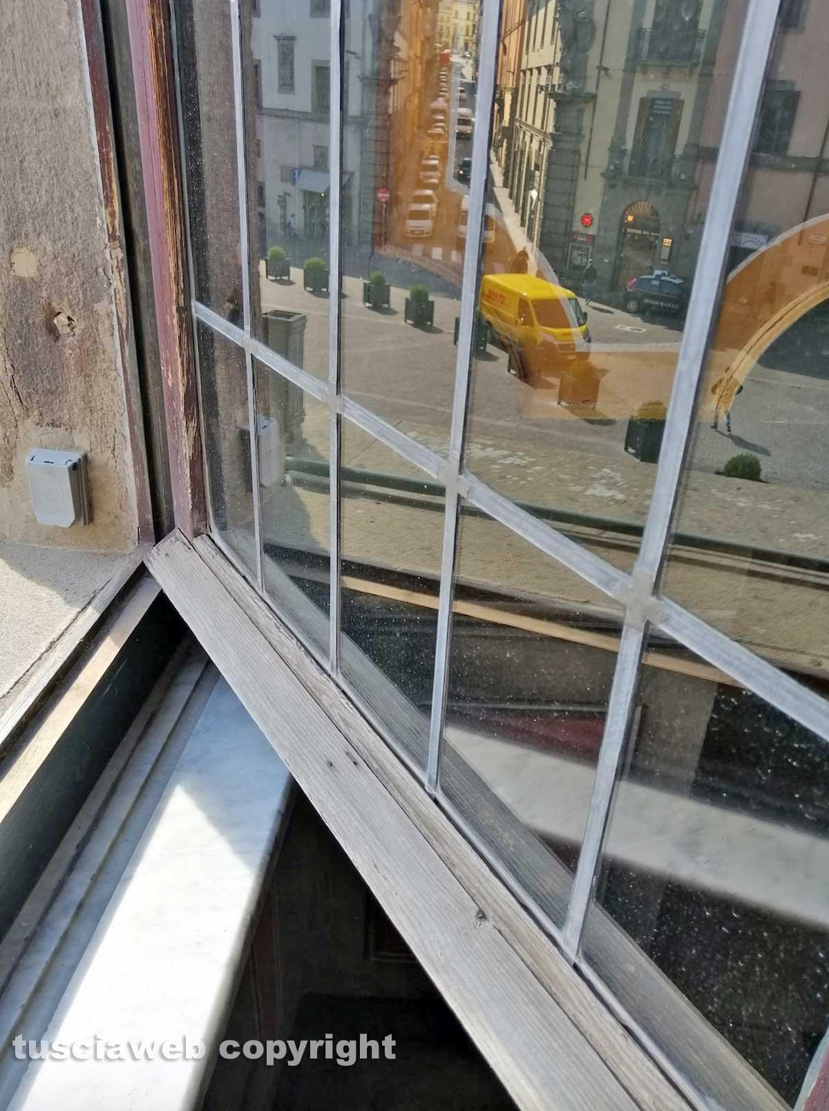 Viterbo - La finestra da cui si sono affacciati i Papi