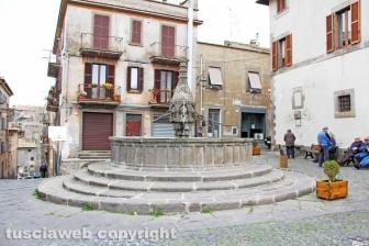 Viterbo - La fontana di Pianoscarano
