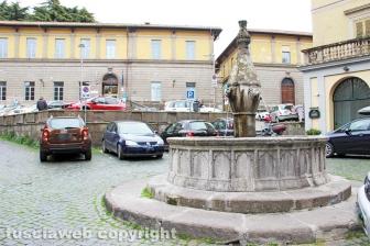 Viterbo - La fontana di piazza Dante