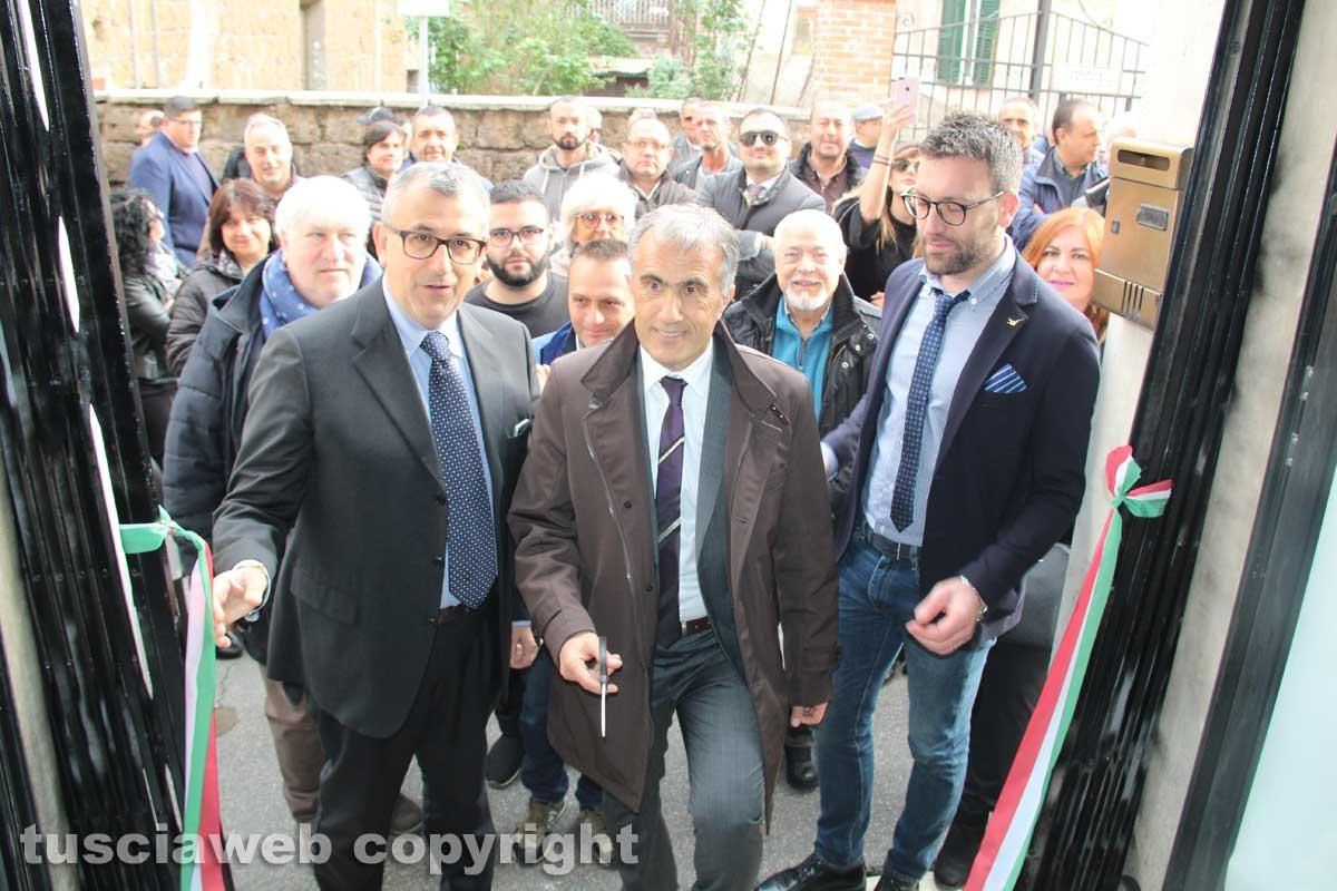 Civita Castellana - La presentazione del candidato sindaco Caprioli (Lega)