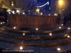 Viterbo - Pianoscarano - La magia delle luci antiche