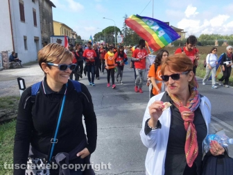 La marcia della pace Perugia-Assisi