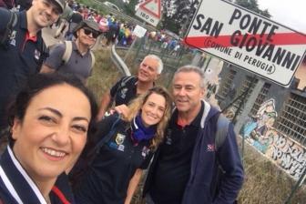 La marcia della pace da Perugia ad Assisi