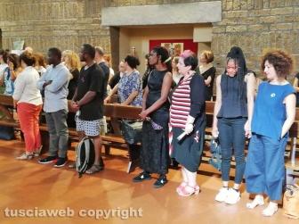 Viterbo - Giovane affogato nel lago di Bolsena - La messa per Joshua Chibueze Anyanwu