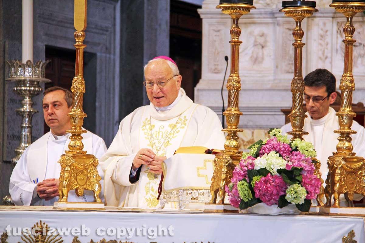 La messa per la Madonna della Quercia