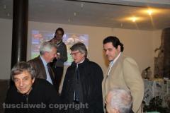 Il sindaco Michelini, David Sassoli e Francesco Ciprini