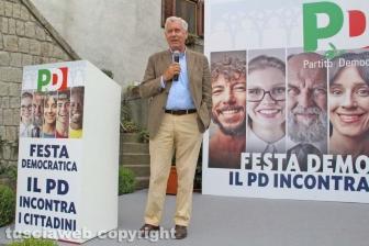 Festa democratica - Il sindaco Michelini