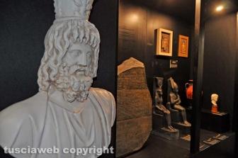 La mostra di Tutankhamon a piazza Fontana grande