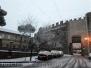 La neve a Viterbo