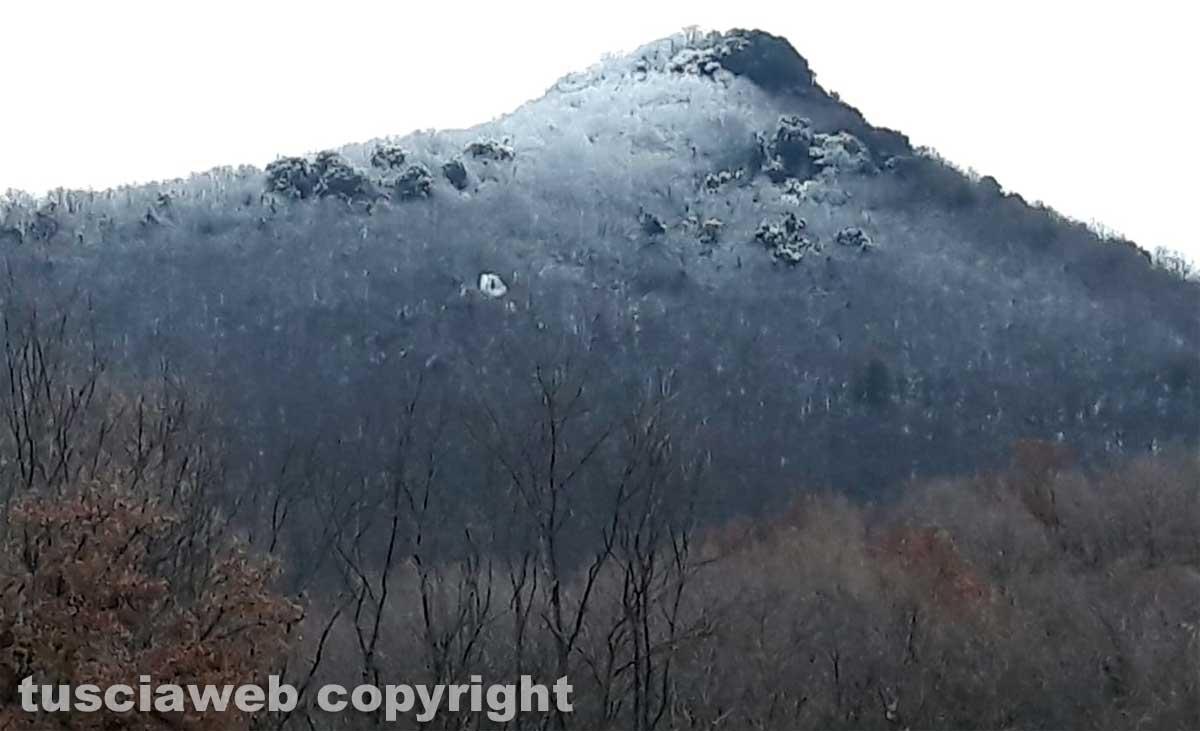 Viterbo - Neve sulla Palanzana