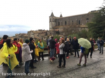 """La passeggiata """"Tobia - San Martino al Cimino olio e vino"""""""