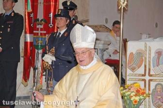 La polizia festeggia San Michele