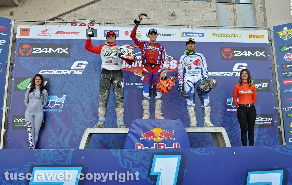 La prima prova del campionato italiano di motocross