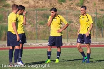 Sport - Calcio - Viterbese - I gialloblù in campo