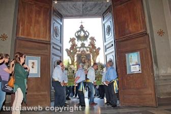 Viterbo - La processione della Madonna Liberatrice
