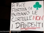 La protesta alla sala Bingo in via Garbini