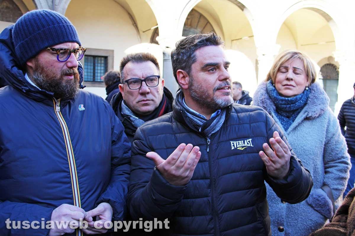 La protesta dei sindacati di polizia penitenziaria