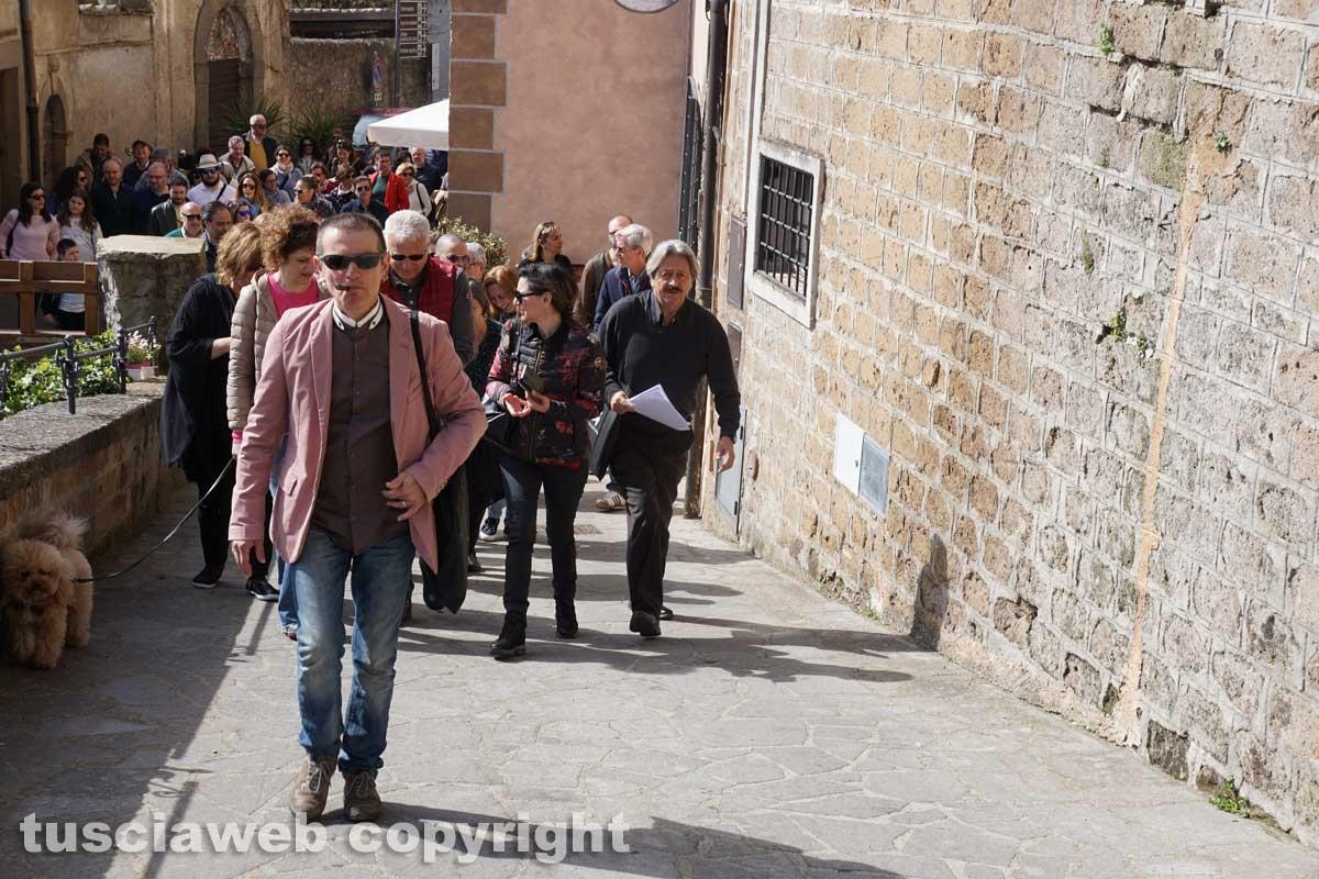 Bassano in Teverina - L'apertura straordinaria della Torre animata - Antonello Ricci