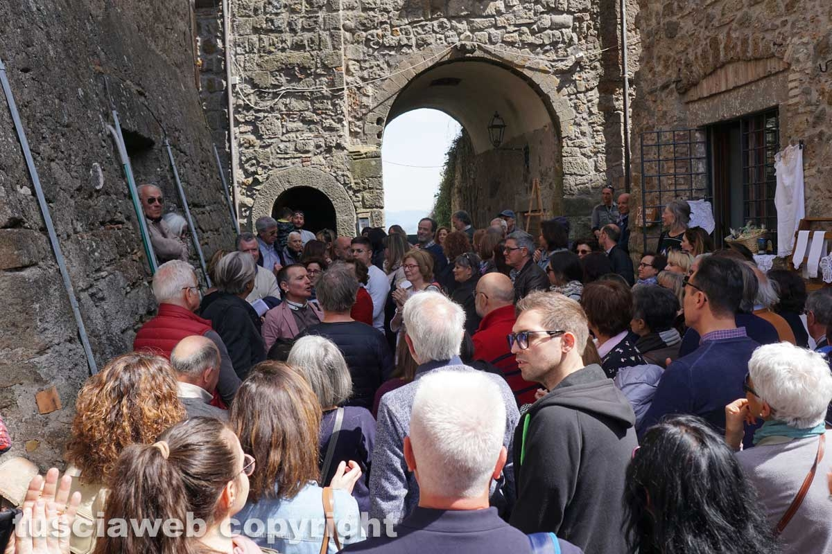 Bassano in Teverina - L'apertura straordinaria della Torre animata