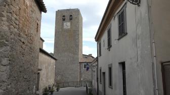 Bassano in Teverina - La torre dell'orologio