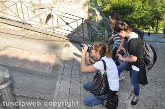Guerrilla fotografica a Bassano in Teverina