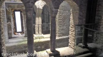 Il sistema di specchi all'interno della torre