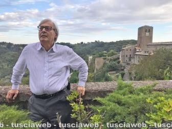 Vittorio Sgarbi a Bassano in Teverina