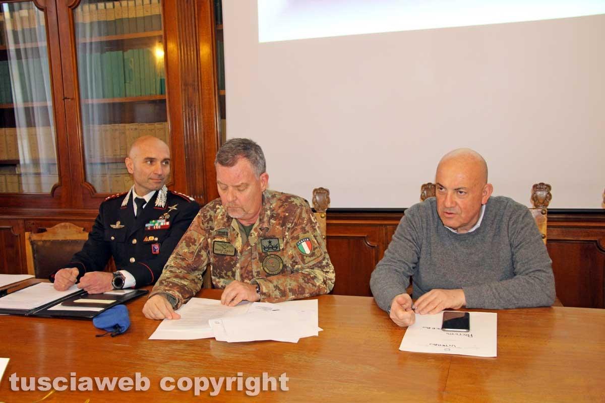 La riunione del comitato sicurezza
