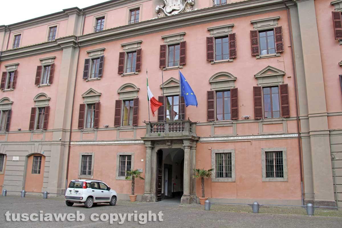 Viterbo - Il palazzo della prefettura