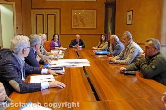 Viterbo - La riunione del tavolo sull'Acquabianca