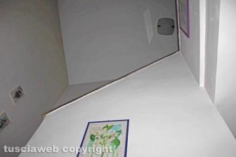 Giallo di Ronciglione - Le prime immagini della scala da cui Maria Sestina Arcuri è precipitata