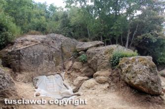 La tomba a casetta recentemente scoperta
