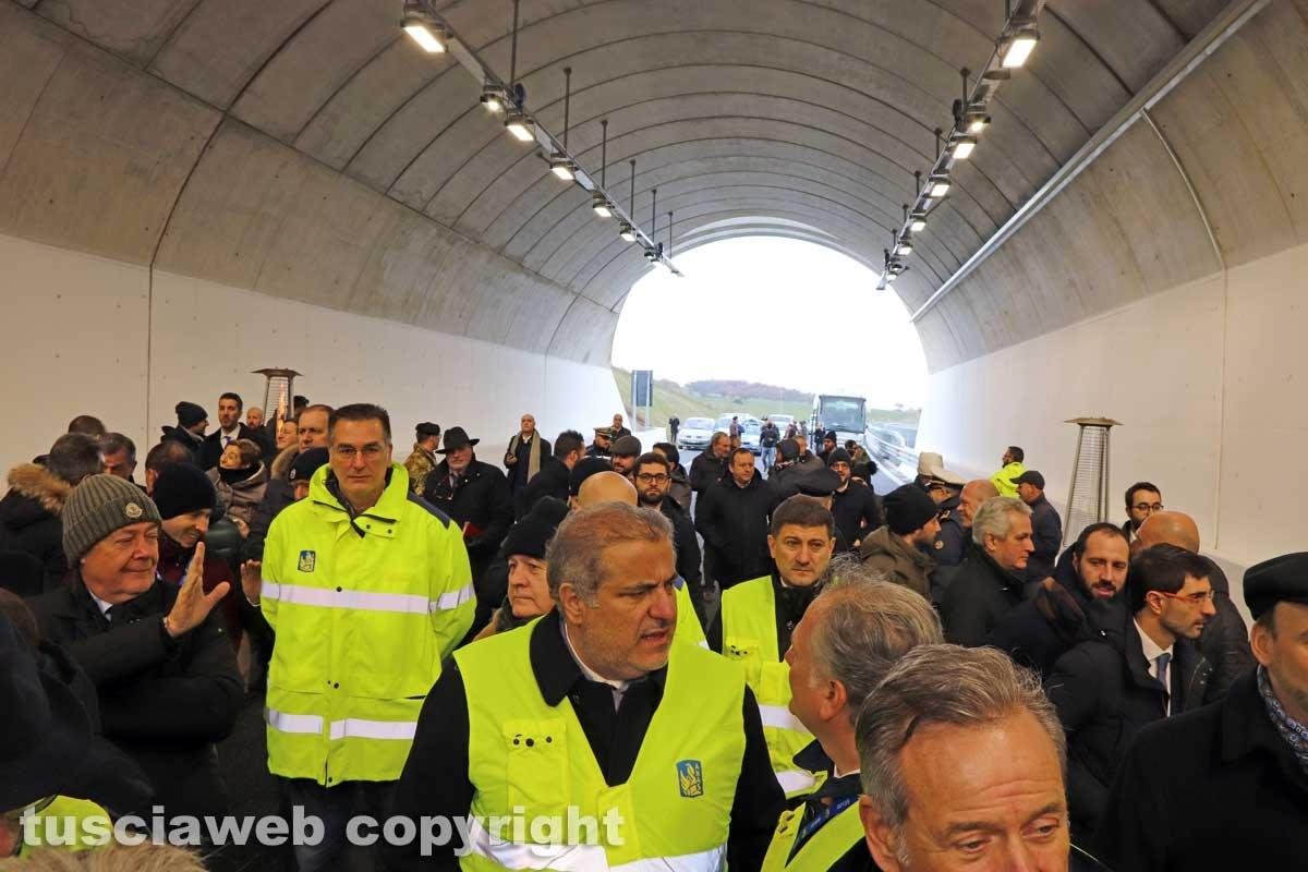 Monte Romano - L'inaugurazione dell'ultimo tratto della trasversale