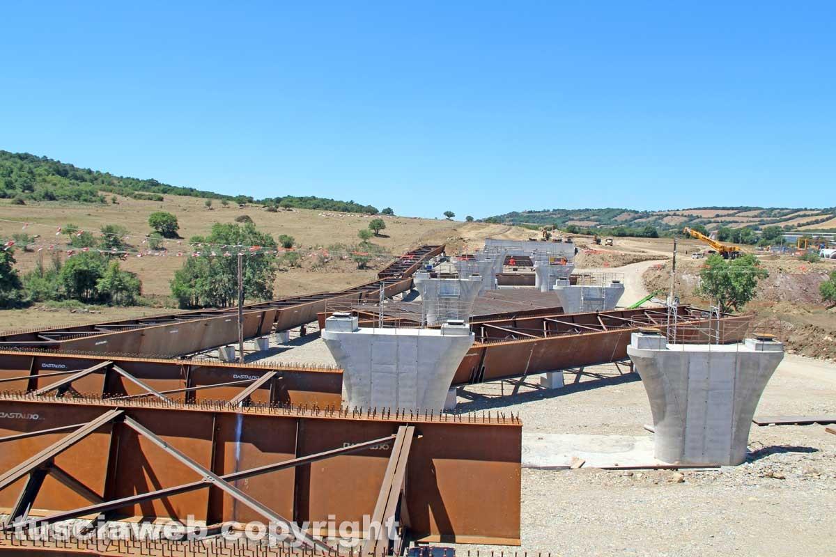 Monteromano - I lavori per la costruzione della trasversale