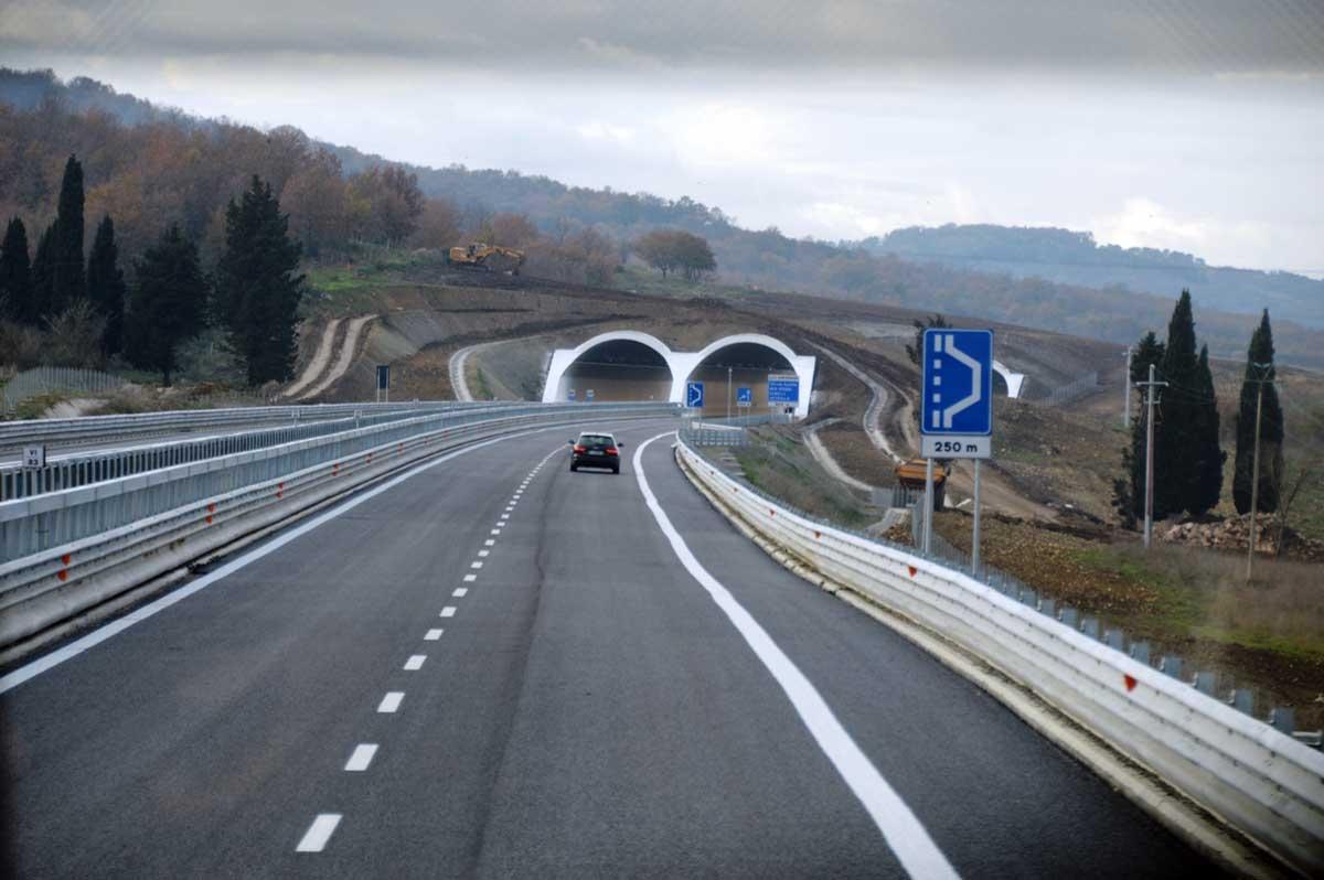 Trasversale, tratto Cinelli-Monte Romano