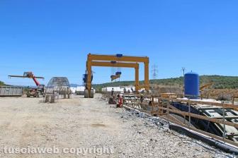 I lavori per la costruzione della trasversale