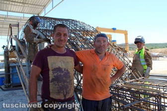 Monte Romano - I lavoratori della trasversale